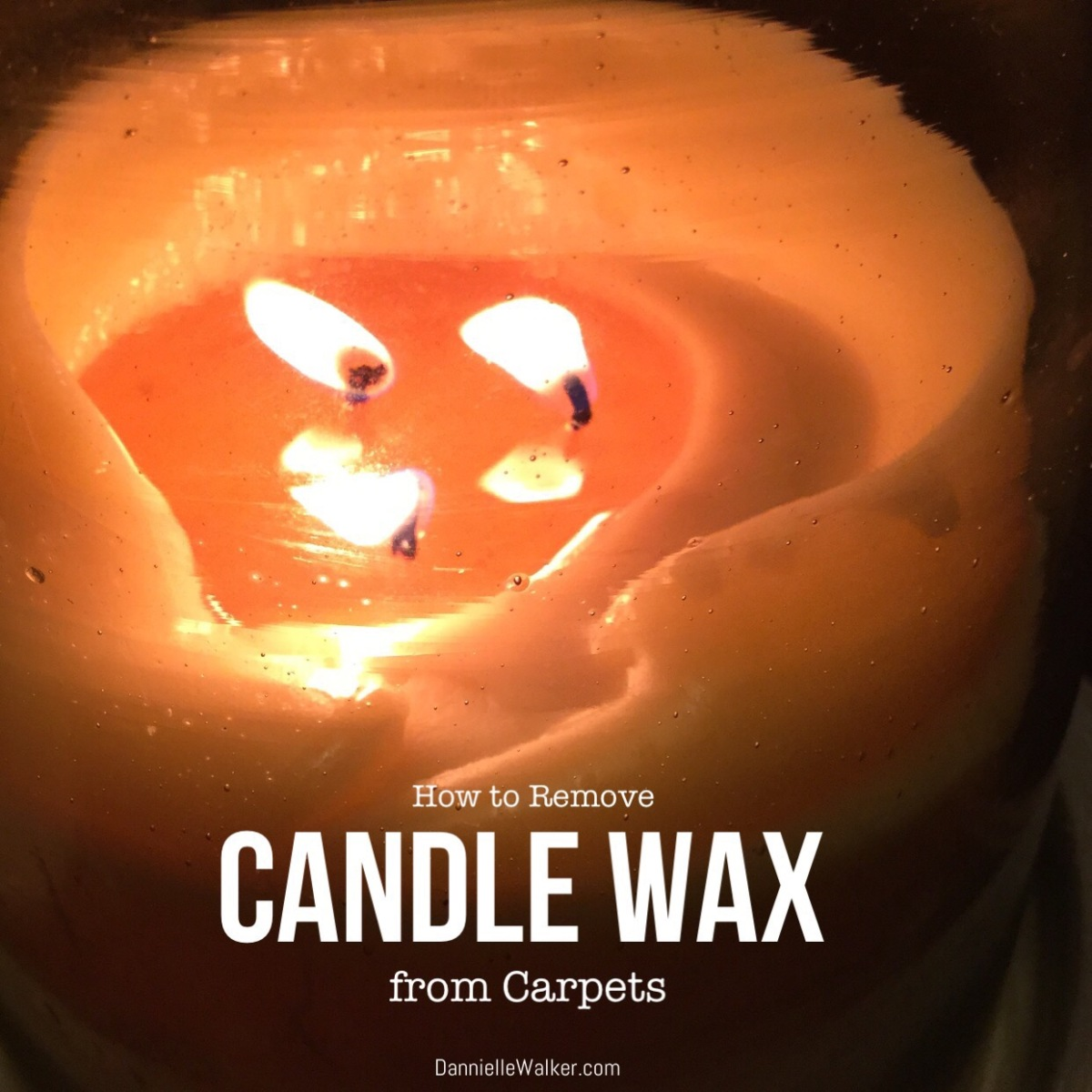 How to Remove Candle Wax from Carpets